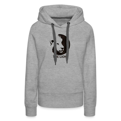 THE LION Basic/Logo - Frauen Premium Hoodie