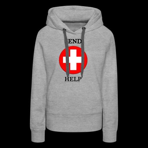 SendHelp - Frauen Premium Hoodie