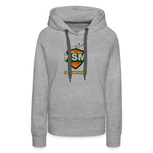 KSM-Soccer Logo - Frauen Premium Hoodie