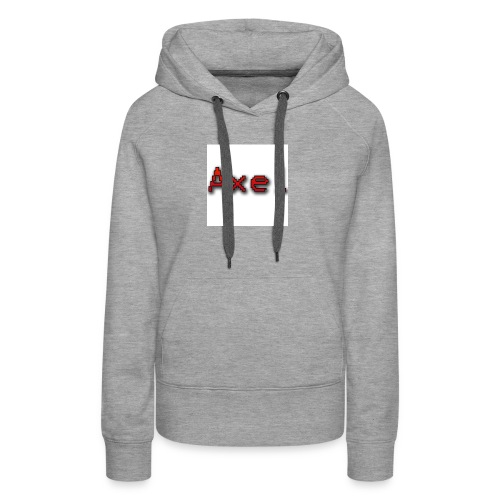 Retro Pixel Logo - Vrouwen Premium hoodie