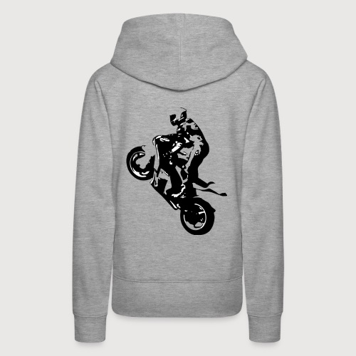 BR Wheelie style Black - Frauen Premium Hoodie