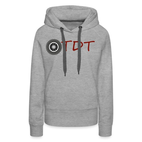 OtdtOfficiel - Sweat-shirt à capuche Premium pour femmes