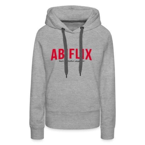 Abiflix GSG 2019 - Frauen Premium Hoodie