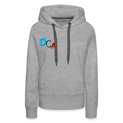 DGA - Sweat-shirt à capuche Premium pour femmes