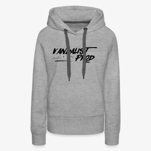 Vandalist Prod - Sweat-shirt à capuche Premium pour femmes