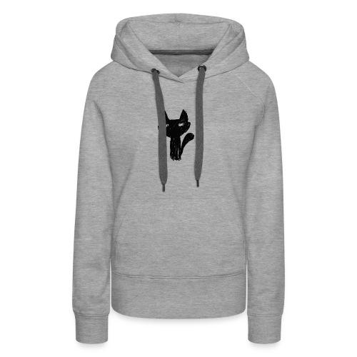 Katt Noir - Premium hettegenser for kvinner