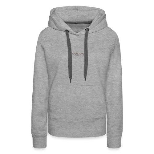 i am cute - Vrouwen Premium hoodie
