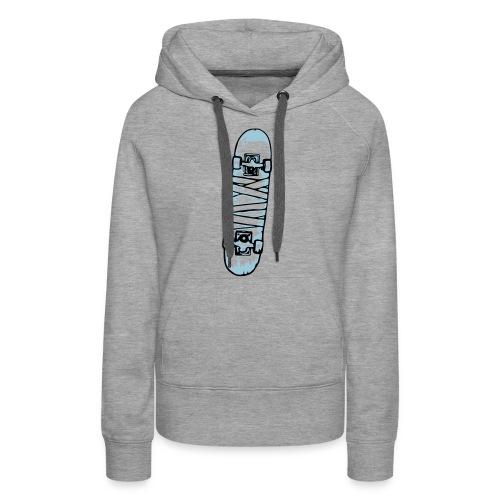 Mummy Skateboard - Sweat-shirt à capuche Premium pour femmes