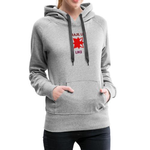 Lo mejor - Sudadera con capucha premium para mujer