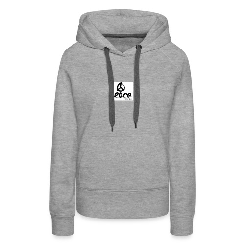 Peace-therapy-recordzz-mode - Frauen Premium Hoodie