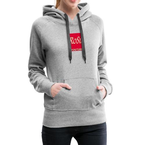 Få et personligt præg fra din yndlings YouTuber - Dame Premium hættetrøje