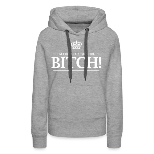 i am from lux 2 0 - Women's Premium Hoodie