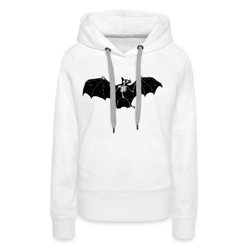 Bat skeleton #1 - Women's Premium Hoodie