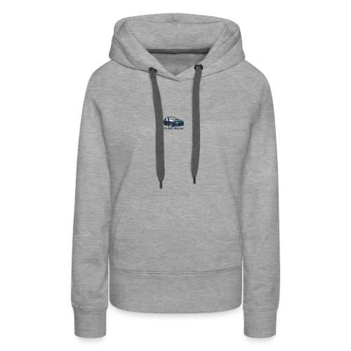 tshirtlogo1 - Vrouwen Premium hoodie