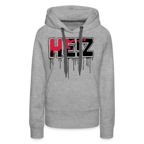 HE Z Logo Schwarz - Frauen Premium Hoodie