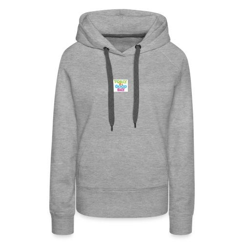 images 1 - Sweat-shirt à capuche Premium pour femmes