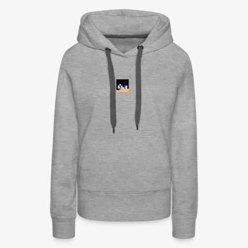 JK Gaming's Minecraft Head - Women's Premium Hoodie