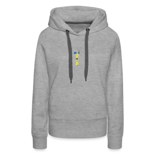 ski's - Vrouwen Premium hoodie