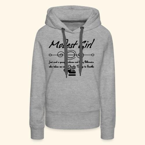 Modest Girl Shirts - Women's Premium Hoodie