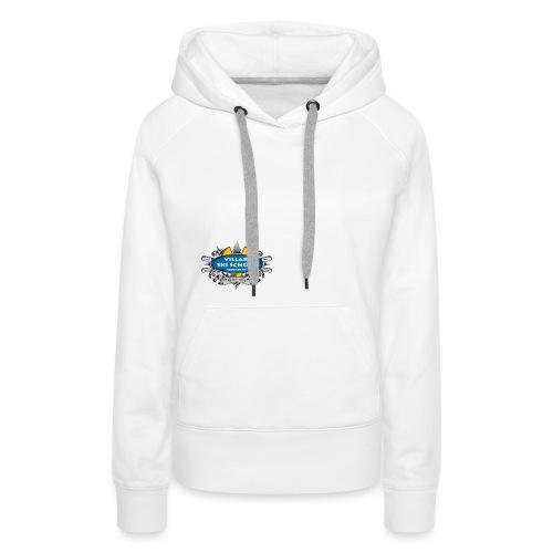 LOGO-VSS - Sweat-shirt à capuche Premium pour femmes