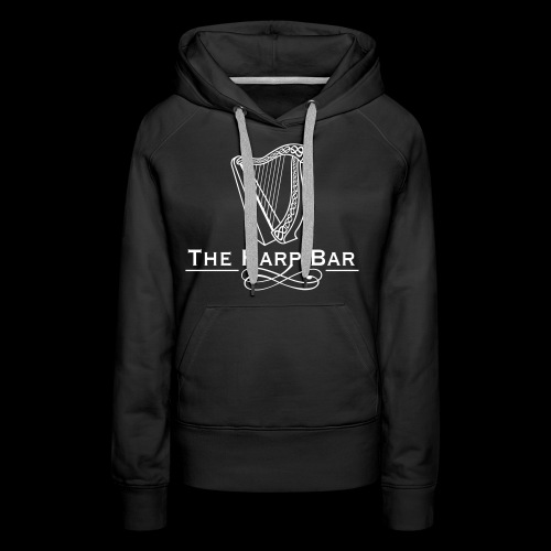 Logo The Harp Bar Paris - Sweat-shirt à capuche Premium pour femmes