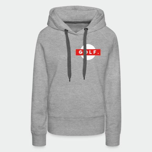 GOLF. - Sweat-shirt à capuche Premium pour femmes