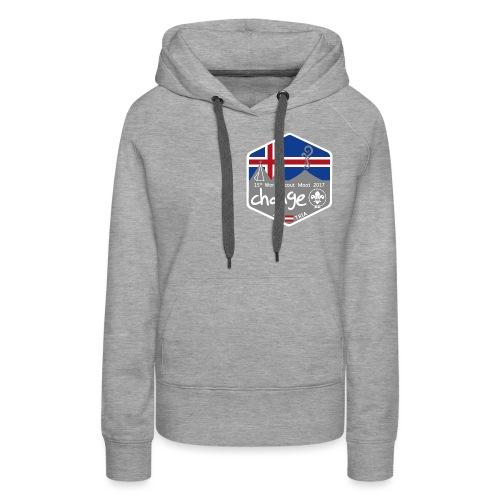 MootIsland Abzeichen - Frauen Premium Hoodie