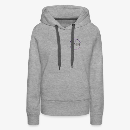 ANH purple and black logo - Women's Premium Hoodie