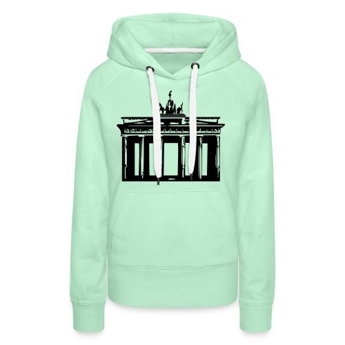 Brandenburger Tor - Frauen Premium Hoodie