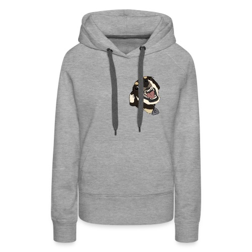 angry doggo - Frauen Premium Hoodie