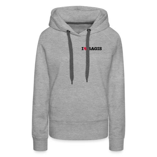 I Love Bagis - Premiumluvtröja dam