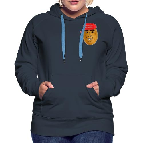 Potato - Sweat-shirt à capuche Premium pour femmes