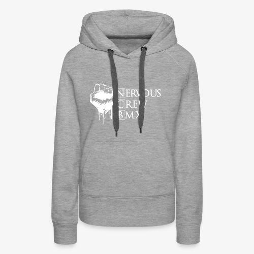 bmx nrv - Sweat-shirt à capuche Premium pour femmes