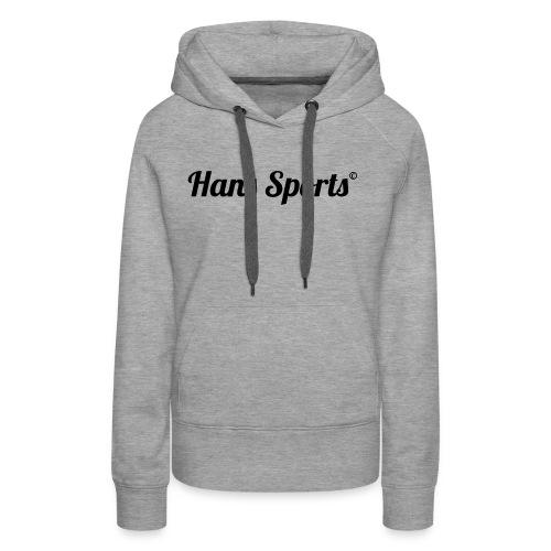 hanssports - Frauen Premium Hoodie