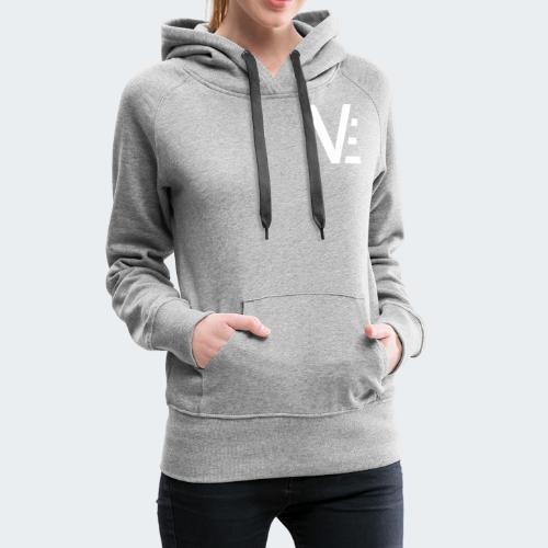 Vekio Réduit Blanc - Sweat-shirt à capuche Premium pour femmes