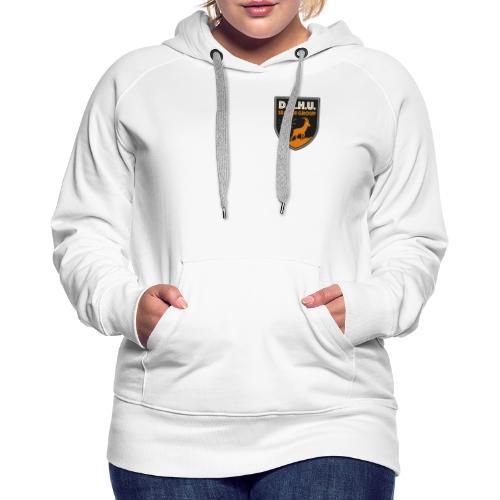 Chasse au dahu - Sweat-shirt à capuche Premium pour femmes