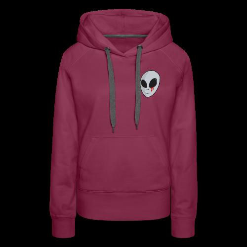 Bloody Alien - Sweat-shirt à capuche Premium pour femmes