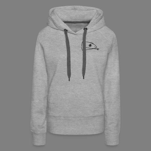Snake logo black - Vrouwen Premium hoodie