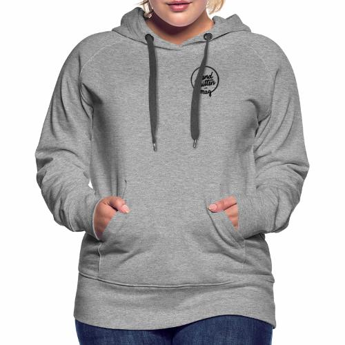 hw logo sw - Frauen Premium Hoodie