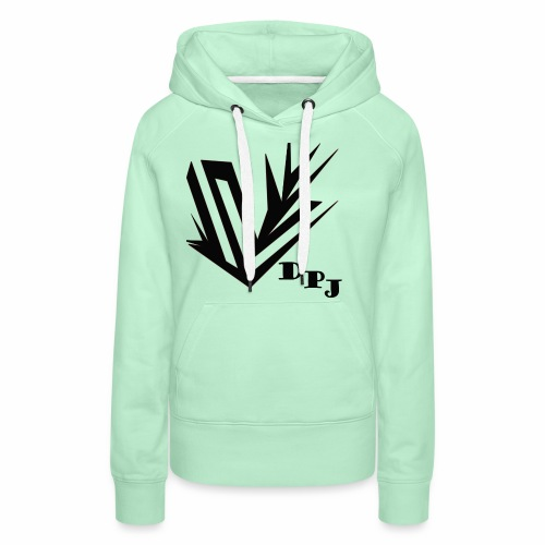 dpj - Sweat-shirt à capuche Premium pour femmes