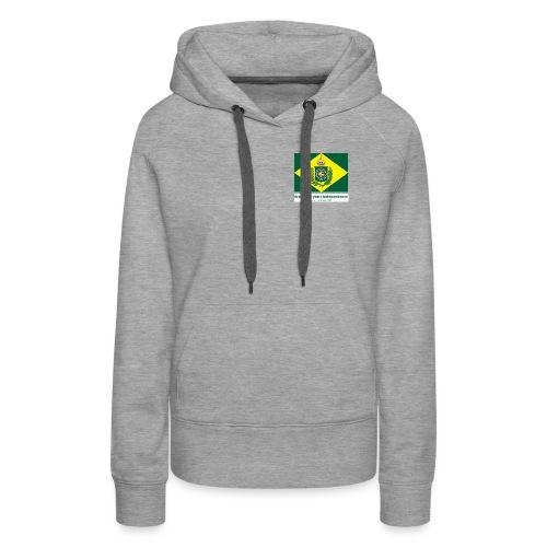 Brazil 200 years independence - Premium hettegenser for kvinner