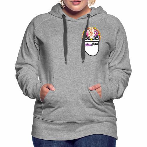 Nina Nice Pocket - Frauen Premium Hoodie