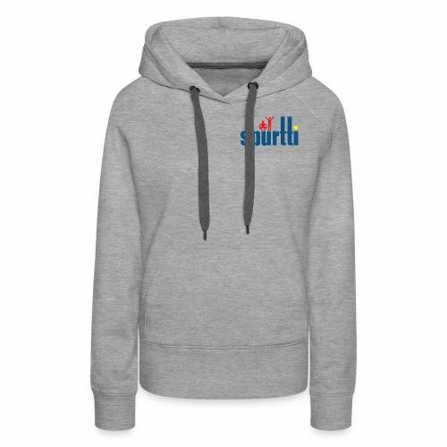 Spurtti Logo - Naisten premium-huppari