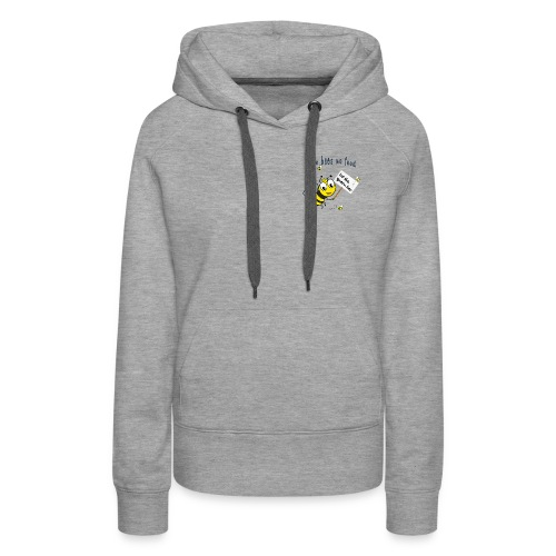 Save the bees with this cute design! Red de bij - Vrouwen Premium hoodie