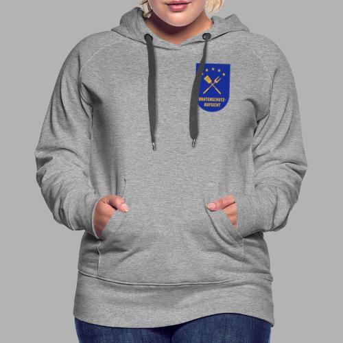 EU Bratenschutz-Aufsicht Dienstabzeichen blau - Frauen Premium Hoodie