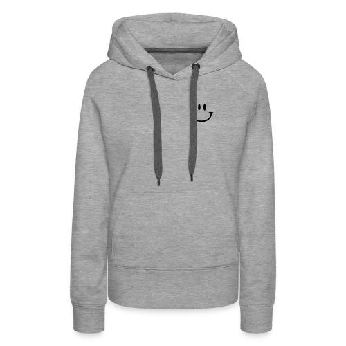 Grau meliert ptb_logo_2010 Pullover - Women's Premium Hoodie