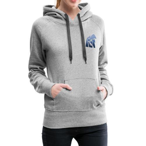 La nature - Sweat-shirt à capuche Premium pour femmes