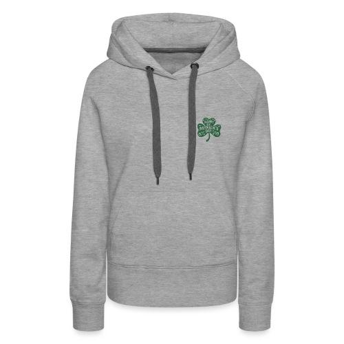 HAPPY ST PAT TREFLE - Sweat-shirt à capuche Premium pour femmes