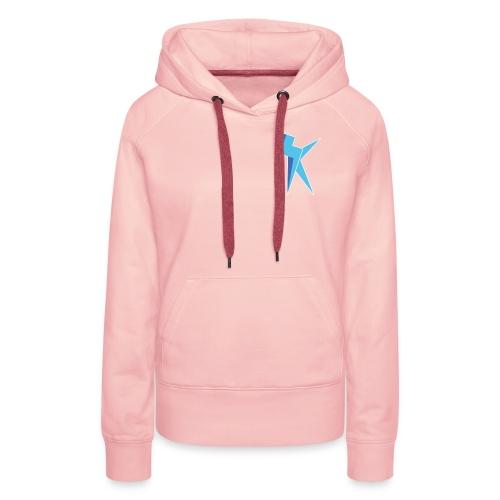 K Vlogs Logo - Vrouwen Premium hoodie