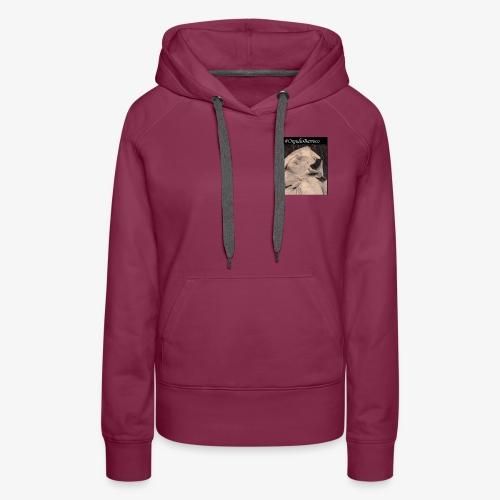 #OrgulloBarroco Teresa dibujo - Sudadera con capucha premium para mujer